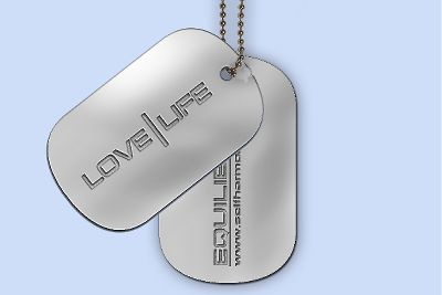 Love | Life Dog Tags